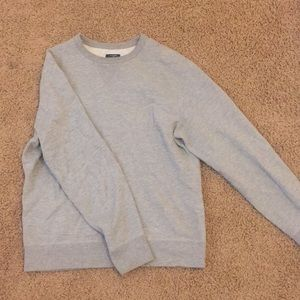 Mens JCREW aunthentic Fleece Crew Neck Sweater